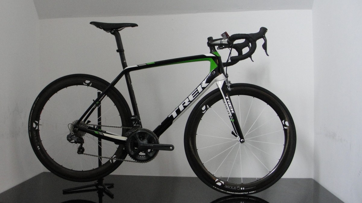 RDD-Trek Madone 7 Series P1, Black/White/Green